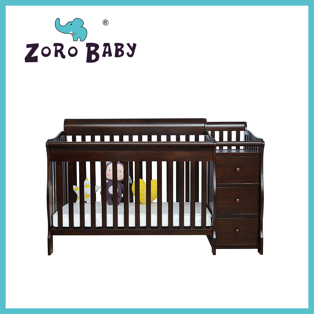 Wooden 3 in1  Baby cribs 050