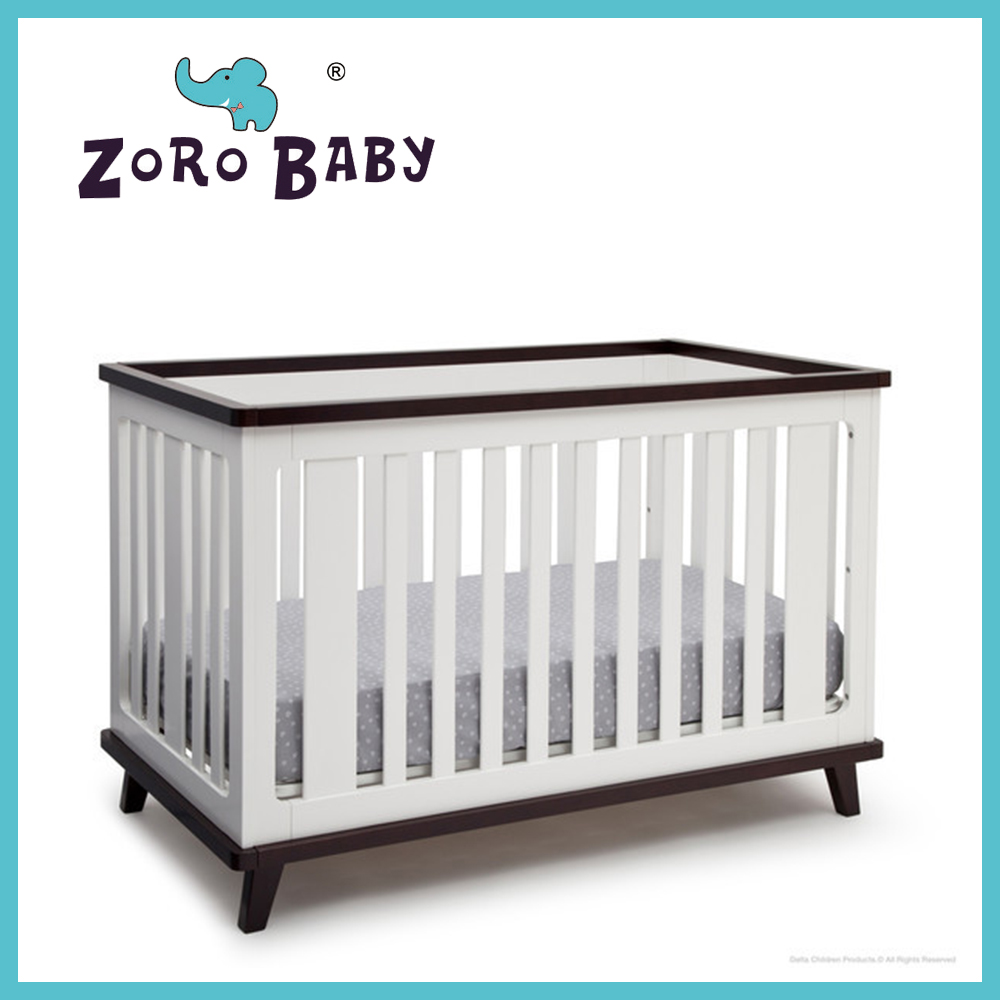 Solid wooden baby cribs 040