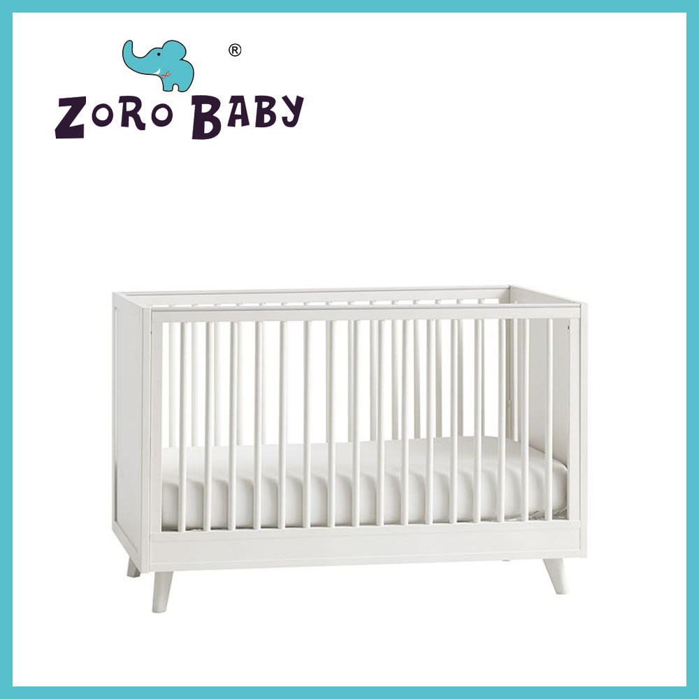 Solid wooden baby cribs 030